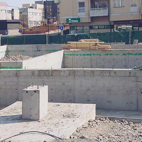 Betonirakenteet - Teollisuusrakentaminen - Kymecon