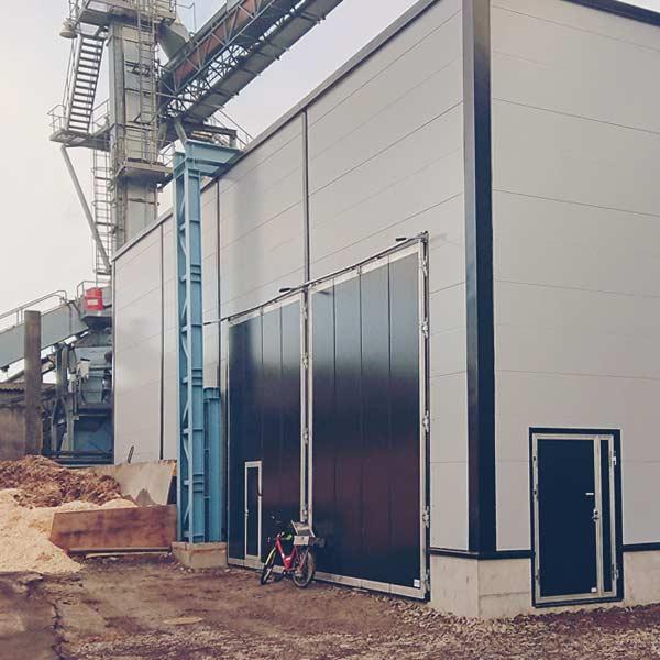 Hallirakentaminen - Teollisuusrakentaminen - Kymecon